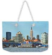 Ny Skyline And Chelsea Piers Weekender Tote Bag
