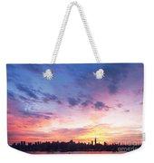 Ny Skyline Dawn Delight Weekender Tote Bag