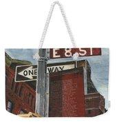 Nyc 8th Street Weekender Tote Bag by Debbie DeWitt