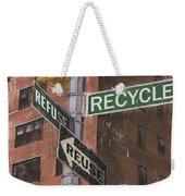 Nyc Broadway 1 Weekender Tote Bag by Debbie DeWitt