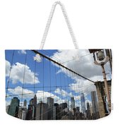 Nyc Catch Me If You Can Weekender Tote Bag