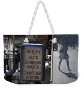 Nyc Drinking Water Weekender Tote Bag