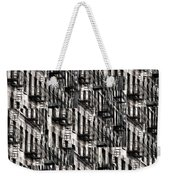 Nyc Fire Escapes Weekender Tote Bag