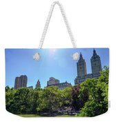 Nyc From Central Park Weekender Tote Bag
