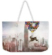 Nyc Hare Day Weekender Tote Bag