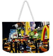 Nyc II The Temple Of M Weekender Tote Bag