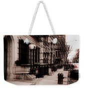 Nyc Neighborhood Series Weekender Tote Bag