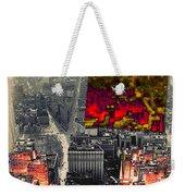 Nyc Papercut No.2 Weekender Tote Bag