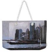 Nyc Pier 11 Layered Weekender Tote Bag