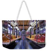 Nyc Subway Weekender Tote Bag