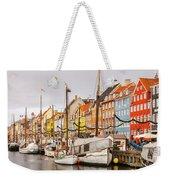 Nyhavn Area Copenhagen Weekender Tote Bag