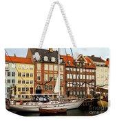 Nyhavn Area Of Copenhagen Weekender Tote Bag