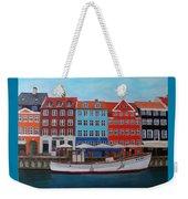 Nyhavn Copenhagen Weekender Tote Bag