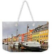 Nyhavn Harbour In Copenhagen Weekender Tote Bag