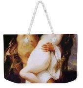 Nymph And Satyr Weekender Tote Bag