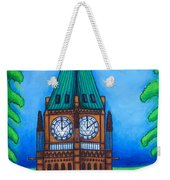 O Canada Weekender Tote Bag by Lisa  Lorenz