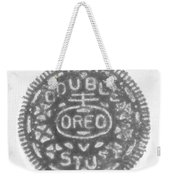 O R E O In Black Negative Weekender Tote Bag