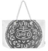 O R E O In Black Negative Weekender Tote Bag