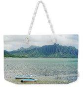 Oahu, Kaneohe Bay Weekender Tote Bag