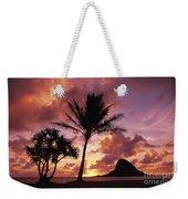 Oahu, Mokolii Island Weekender Tote Bag