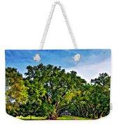 Oak Alley Plantation Weekender Tote Bag by Steve Harrington