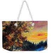 Oak At Sunset Weekender Tote Bag