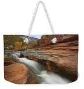 Oak Creek In Slide Rock State Park Weekender Tote Bag
