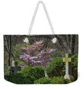 Oak Hill Cemetery Crosses Weekender Tote Bag