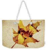 Oak Leaf Weekender Tote Bag