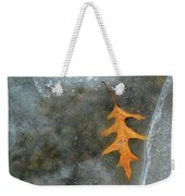 Oak Leaf In Ice  Weekender Tote Bag