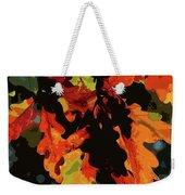 Oak Leaves In Autumn Weekender Tote Bag