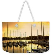 Oak Point Harbor Weekender Tote Bag