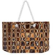 Oak Stump Abstract Weekender Tote Bag