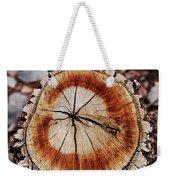 Oak Stump Weekender Tote Bag