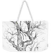 Oak Tree Abstract Study Weekender Tote Bag