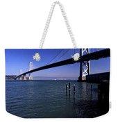 Oakland Bay Bridge 1985 Weekender Tote Bag