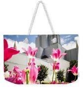 Oakland Pink Tulips Weekender Tote Bag
