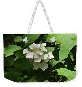 Oakleaf Hydrangea Floral Weekender Tote Bag