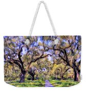 Oaks And Spanish Moss Weekender Tote Bag