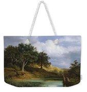 Oaks Beside The Water 1832 By Christian E. B. Morgenstern Weekender Tote Bag