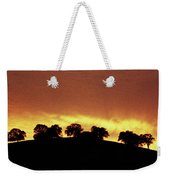 Oaks On Hill At Sunset Weekender Tote Bag