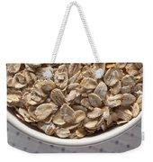 Oatmeal Weekender Tote Bag by Steve Gadomski