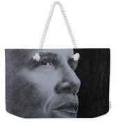 Obama Weekender Tote Bag by Lise PICHE