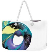 Oblique Paint Weekender Tote Bag