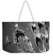 Oblique View Of The Lunar Surface Weekender Tote Bag