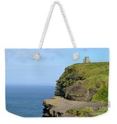 O'brien's Tower Along The Cliff's Of Moher In Ireland Weekender Tote Bag