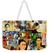 Obsessed With Frida Kahlo Weekender Tote Bag