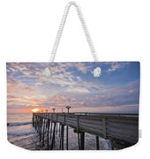 Obx Sunrise Weekender Tote Bag by Adam Romanowicz
