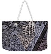 Occidental Park Checkerboard Weekender Tote Bag