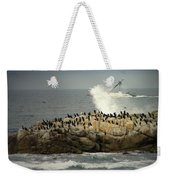 Ocean Angel II Splashed And Birds Weekender Tote Bag